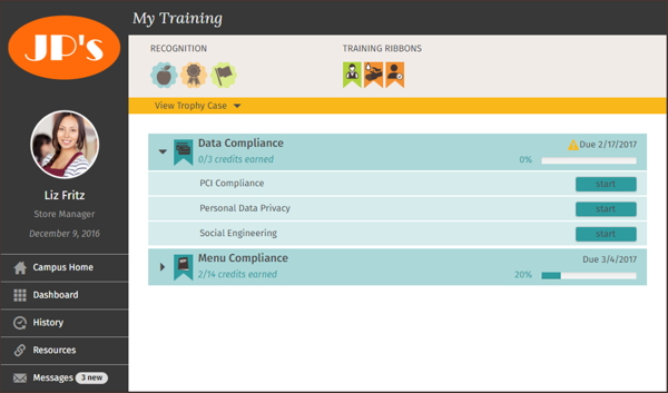 DiscoverLink training module screenshot