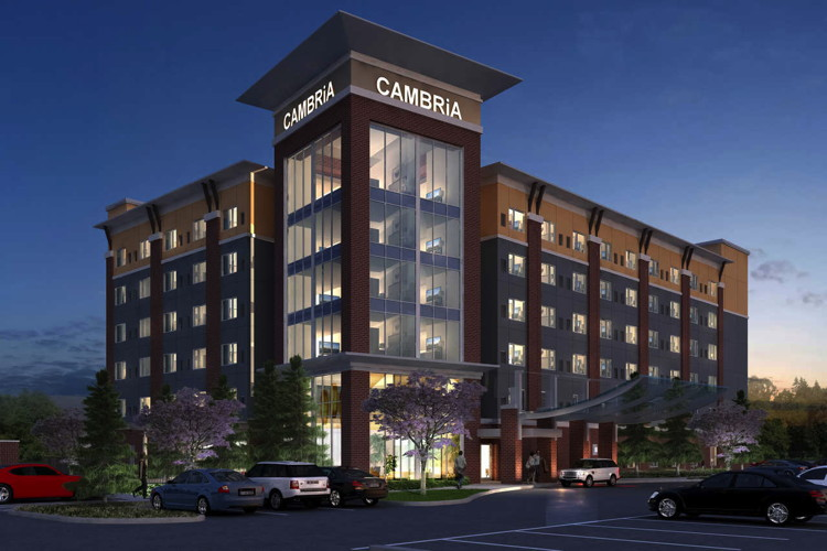 Rendering of the Cambria Hotel Los Angeles – LAX
