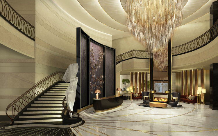 The Ritz-Carlton Astana Hotel - Lobby