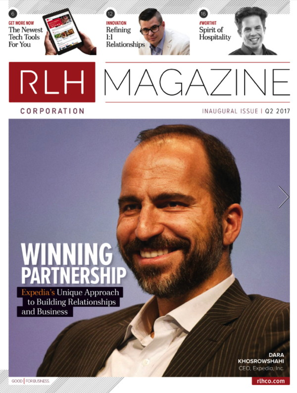 Cover of RLH Magazine