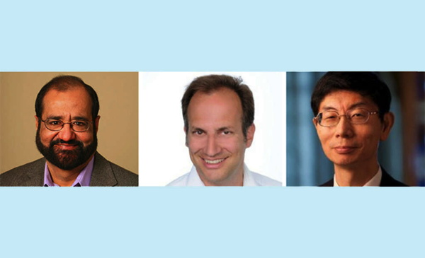 Left to Right: Dr. Ravi Mehrota; Keith Gruen; Hiroo Ichii.