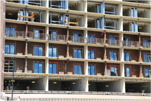 Sheraton Steamboat Resort exterior under renovation