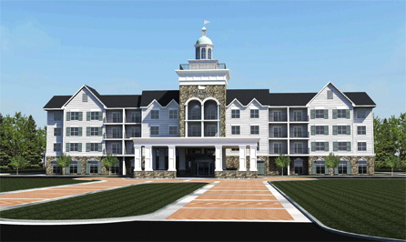 Homewood Suites by Hilton Saratoga Springs Hotel - Exterior