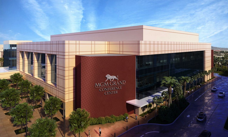 Rendering of the MGM Grand Conference Center