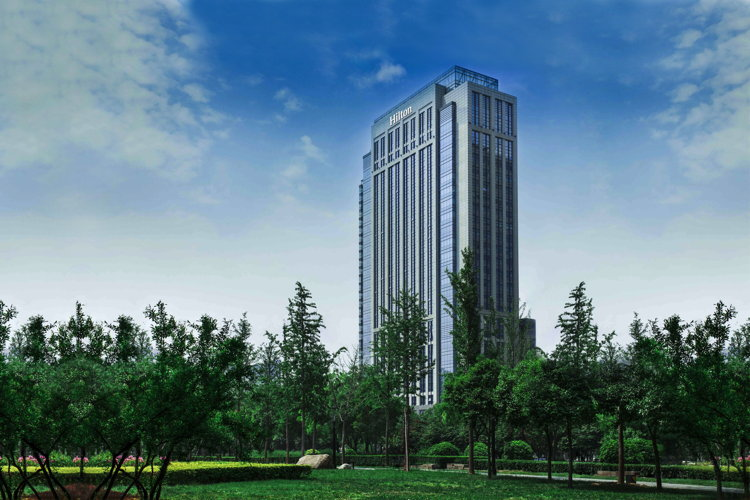Rendering of the Hilton Xi'an High-tech Zone Hotel