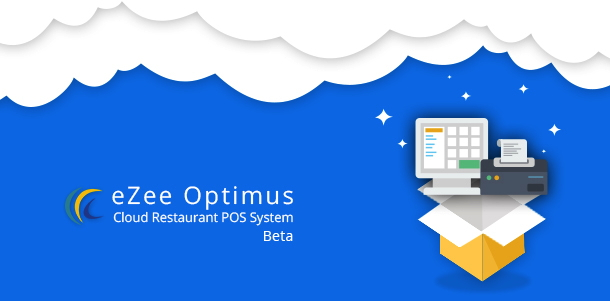Illustration of Restaurant POS Software in the cloud