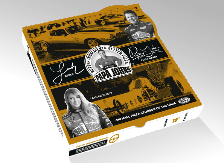 New Papa John's Pizza Ad Features Underdog Story of Dragster Driver Leah Pritchett