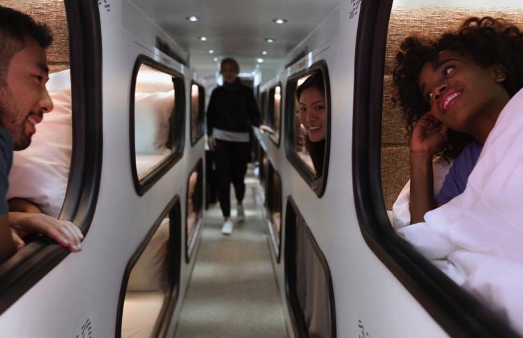 Cabin hospitality transportation company - Interior of cabin