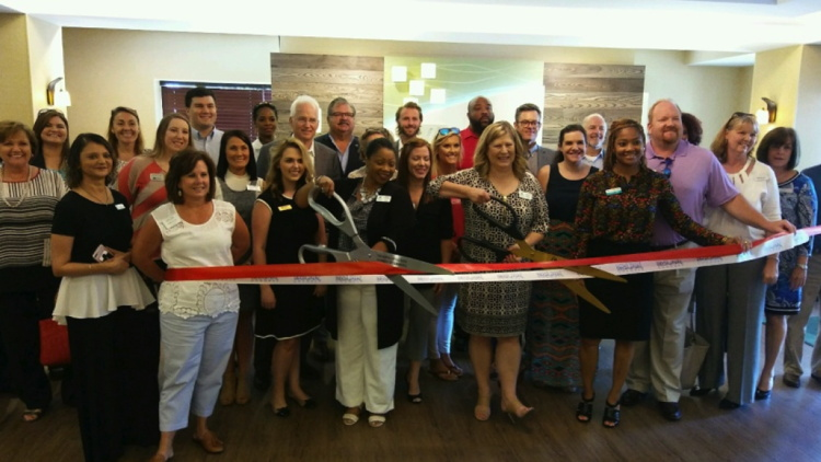 Ribbon cutting at the Holiday Inn® Presidential Downtown Little Rock