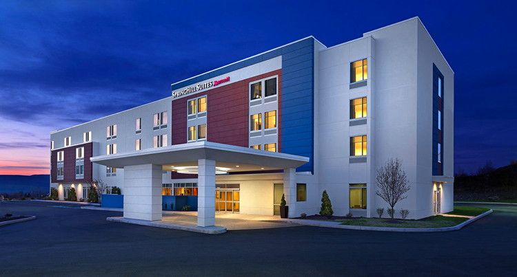 Rendering of the SpringHill Suites Cincinnati Blue Ash Hotel