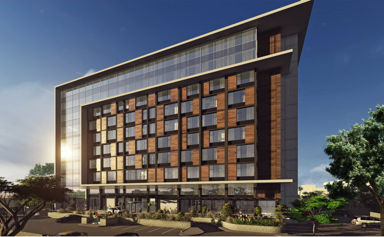 Rendering of the Hilton Niamey to Open 2019 in Niger