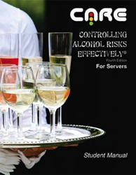 Controlling Alcohol Risks Effectively® (CARE) Training - Manual Cover