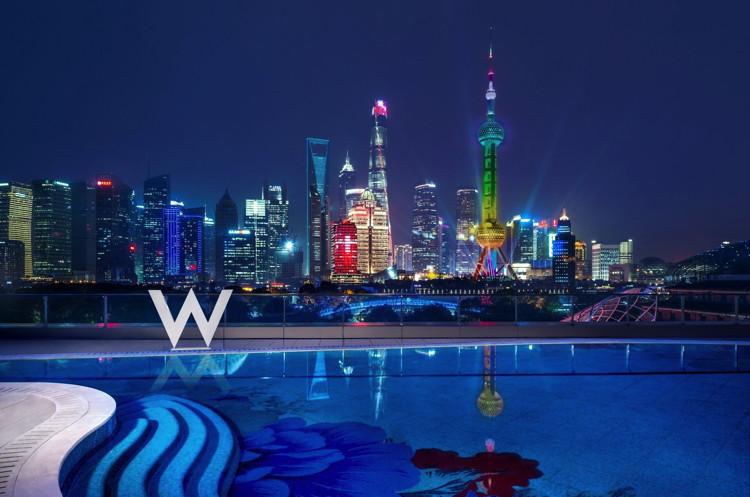 The WET Deck at W Shanghai – The Bund