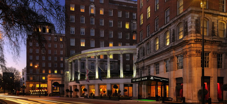 The Grosvenor House Hotel in London Sold