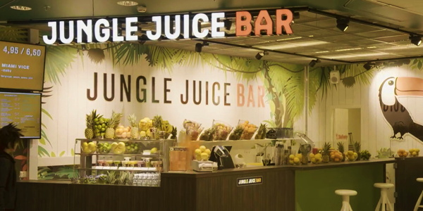 A Jungle Juice Bar restaurant