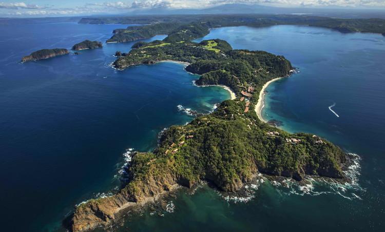 Peninsula Papagayo, Costa Rica - Aerial view