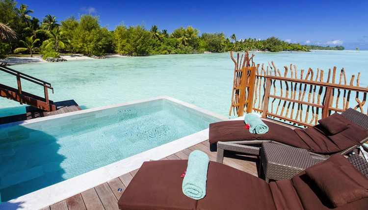 Pool Overwater Villa at InterContinental Bora Bora Resort & Thalasso Spa