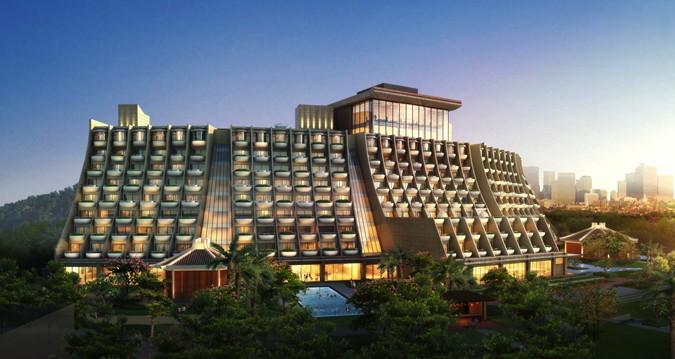 Hilton Shenzhen Shekou Nanhai Hotel - Exterior