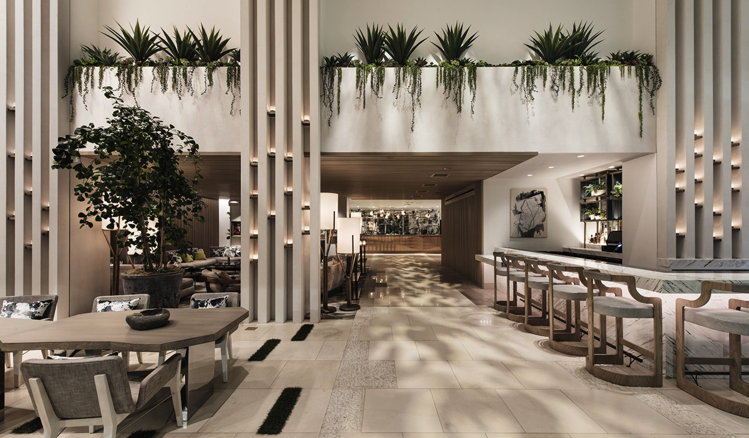Lobby of Dream Hollywood