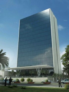 Rendering of the Radisson Blu Hotel Riyadh Al Sahafa