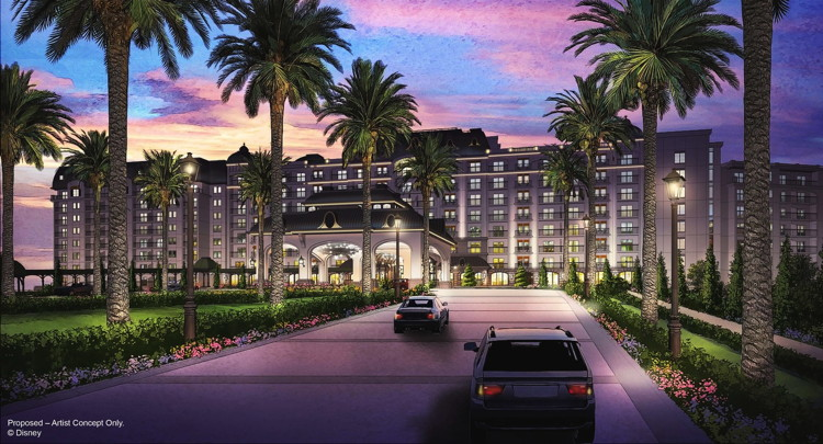 Rendering of the Disney Riviera Resort to Open Fall 2019
