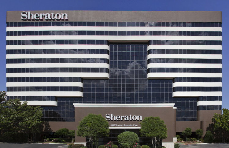 Sheraton DFW Airport Hotel in Irving, Texas - Exterior