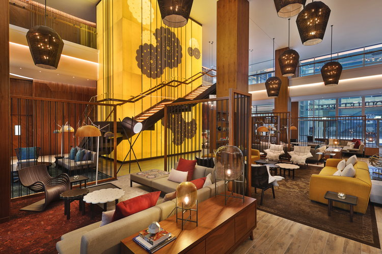 DoubleTree by Hilton Dubai - Business Bay Hotel - Lobby