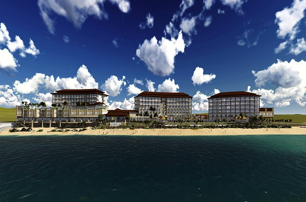 Rendering of the Dusit Thani Mactan Cebu Resort