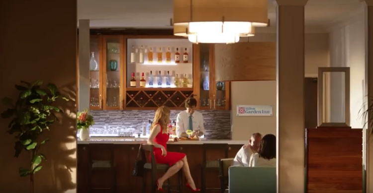 Image from Hilton Garden Inn Brand Refresh Campaign Video