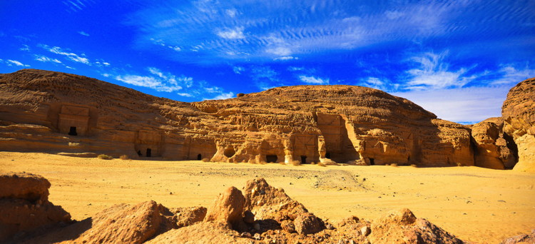 Temples and stone monuments in Mada'en Saleh