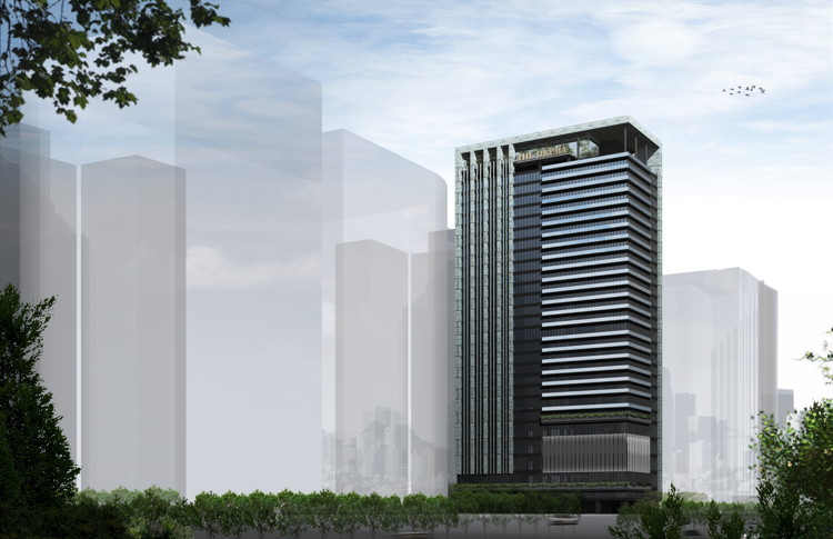 Rendering of The Okura Prestige Taichung