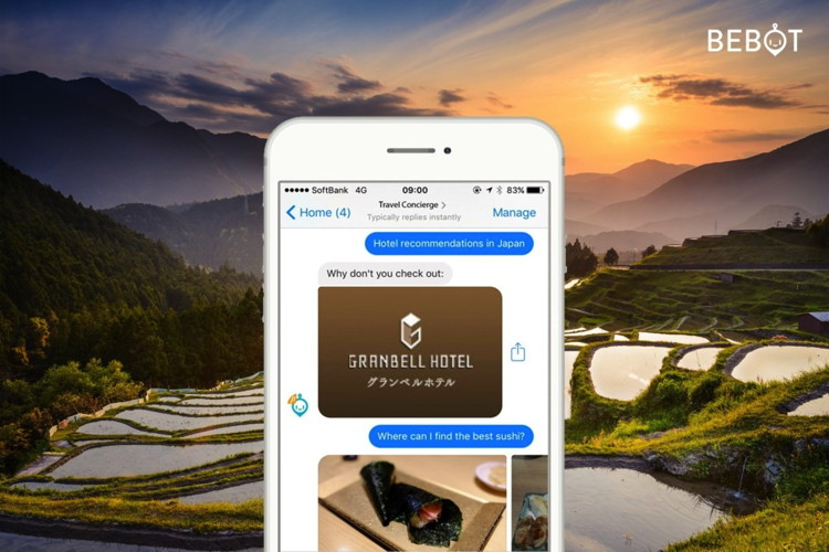 Hotel Chatbot Launched at Granbell Hotels in Japan
