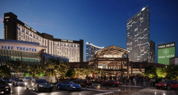Rendering of the Park MGM