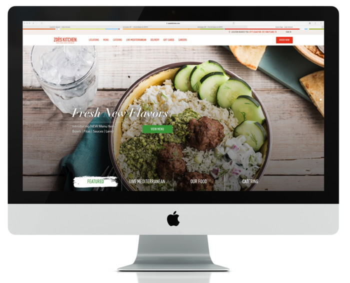 Zoës Kitchen Unveils New Enhanced Website