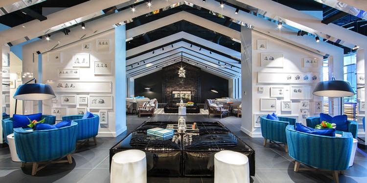 W Bellevue Hotel Opens 0 Lobby