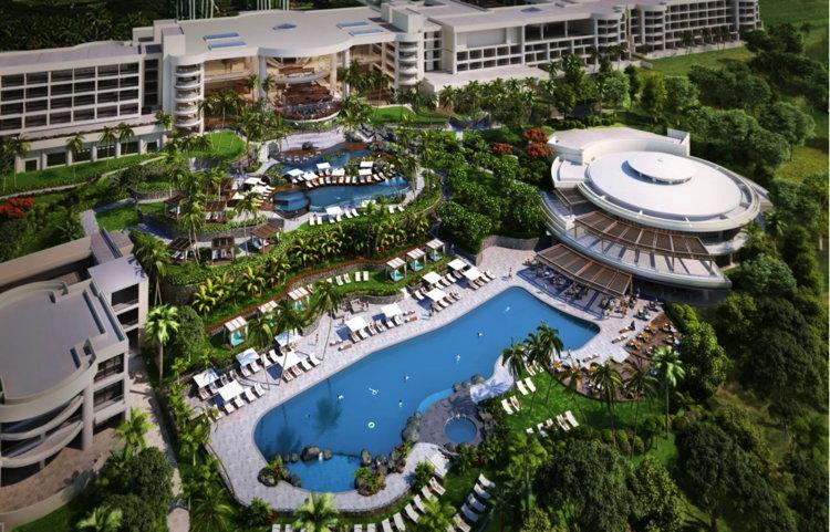 Hapuna Beach Prince Hotel - Aerial View