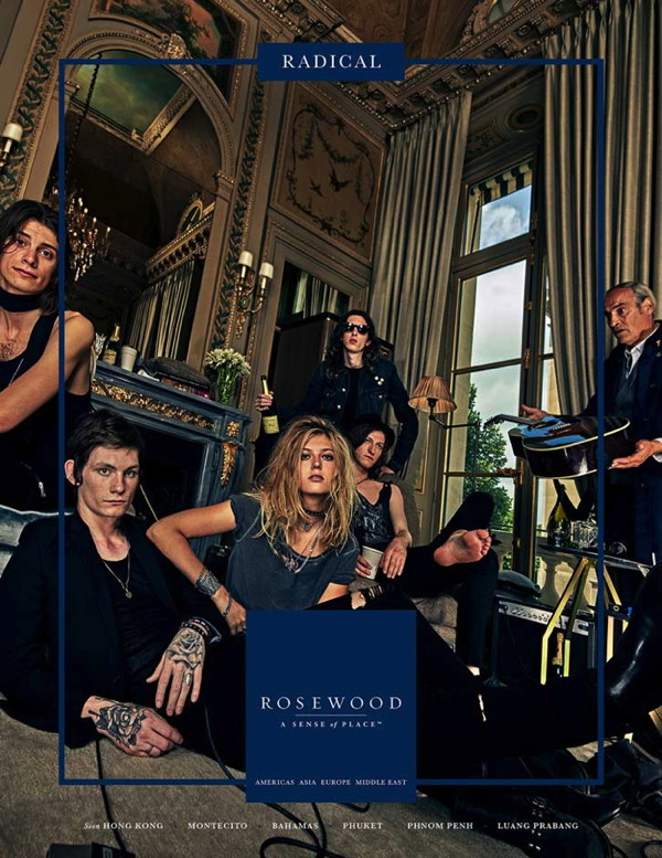 Image from Rosewood Hotels Advertising Campaign