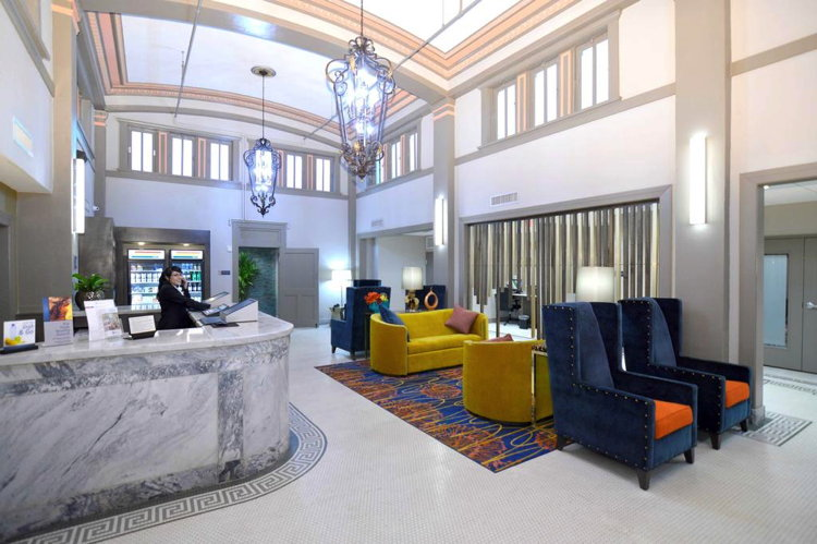 Best Western Premier Historic Travelers Hotel in San Antonio, Texas - Lobby