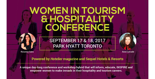 Promotional image for Women in Tourism and Hospitality Conference
