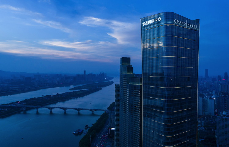 Grand Hyatt Changsha Hotel Opens in South-Central China