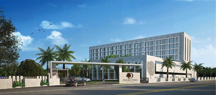 Rendering of the DoubleTree by Hilton Shirdi