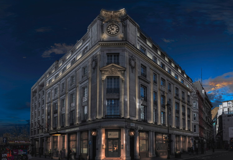 The Trafalgar St. James Hotel in London - Exterior