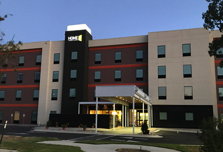 Rendering of the Home2 Suites by Hilton Austin Airport Hotel