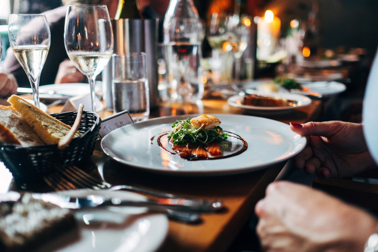 A place setting in a fine dining restuarnt - Photo by Jay Wennington on Unsplash
