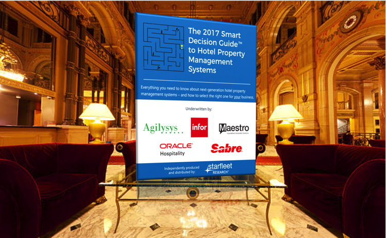 The 2017 Smart Decision Guide to Hotel Property Management Systems - Cover