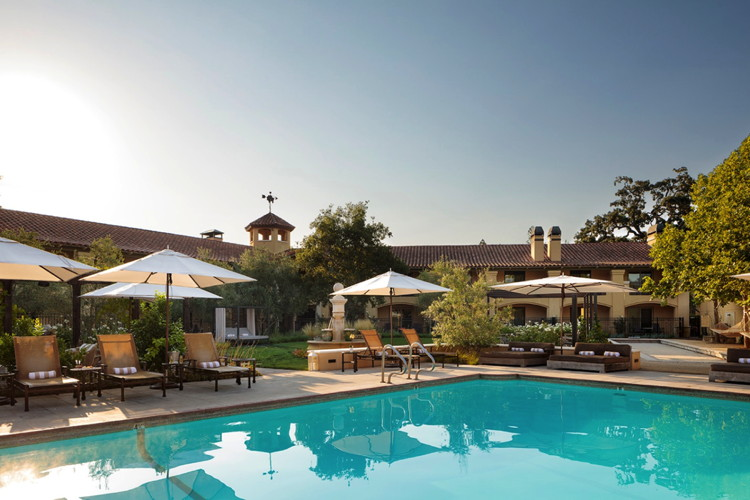 Napa Valley Lodge in Yountville, CA - Pool