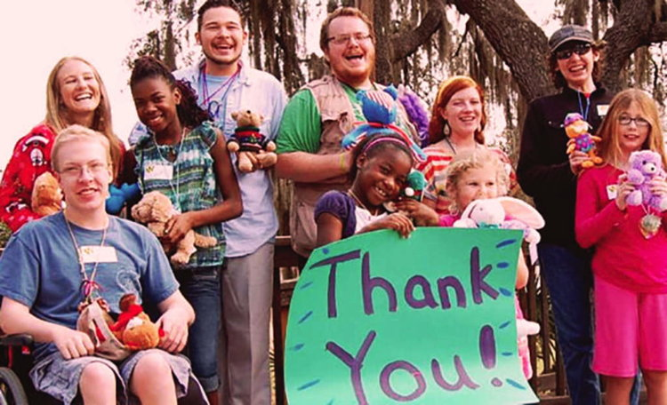 Attendees at Camp Boggy Creek Fundraiser