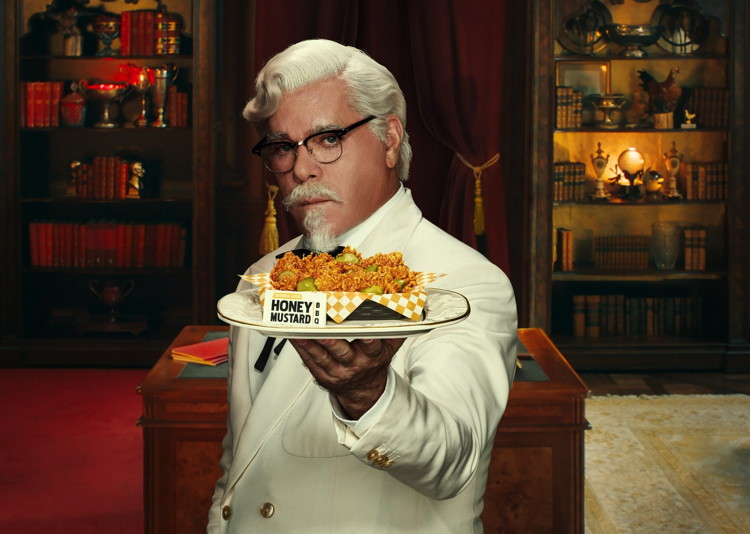 Ray Liotta As Colonel Sanders