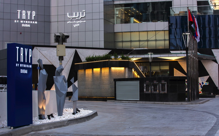 TRYP by Wyndham Dubai Hotel - Entrance