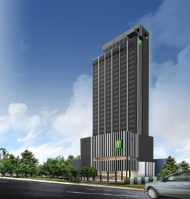 Rendering of the Holiday Inn & Suites Rayong City Centre